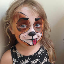 Doggy Face Painting